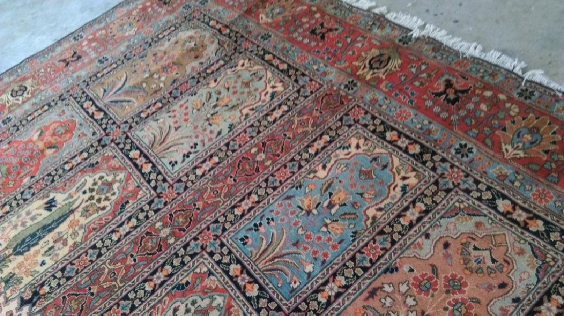 Handmade Persian Tabriz Khoy Carpet 10x13 - 5