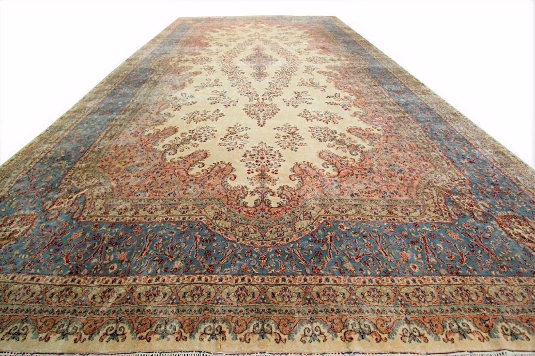 Persian Classic Kerman Rug Carpet 15x26
