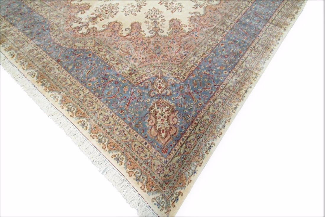 Persian Classic Kerman Rug Carpet 15x26 - 3