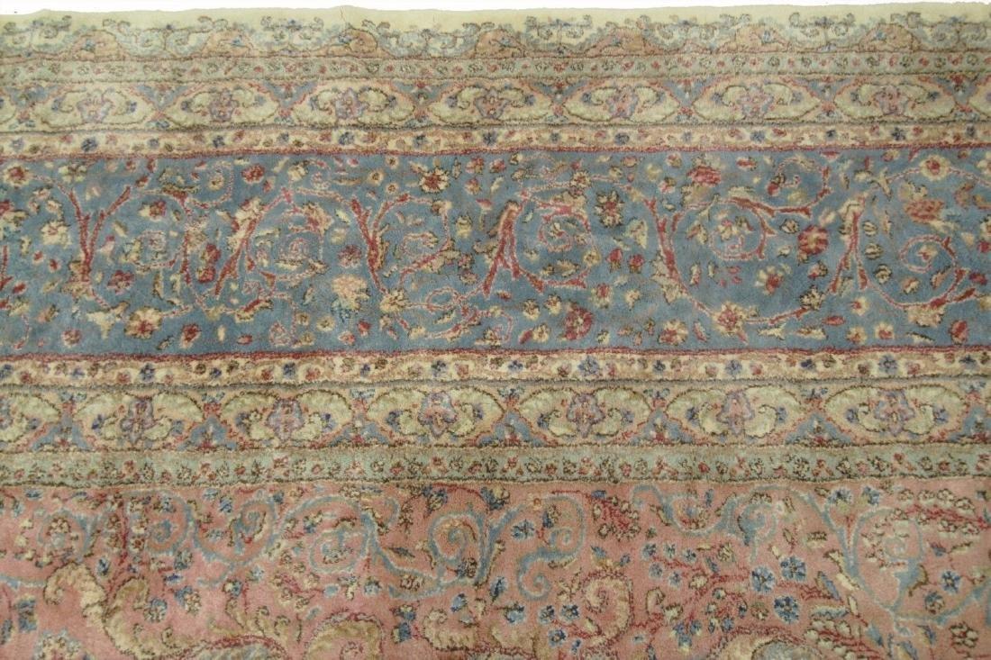Persian Classic Kerman Rug Carpet 15x26 - 5