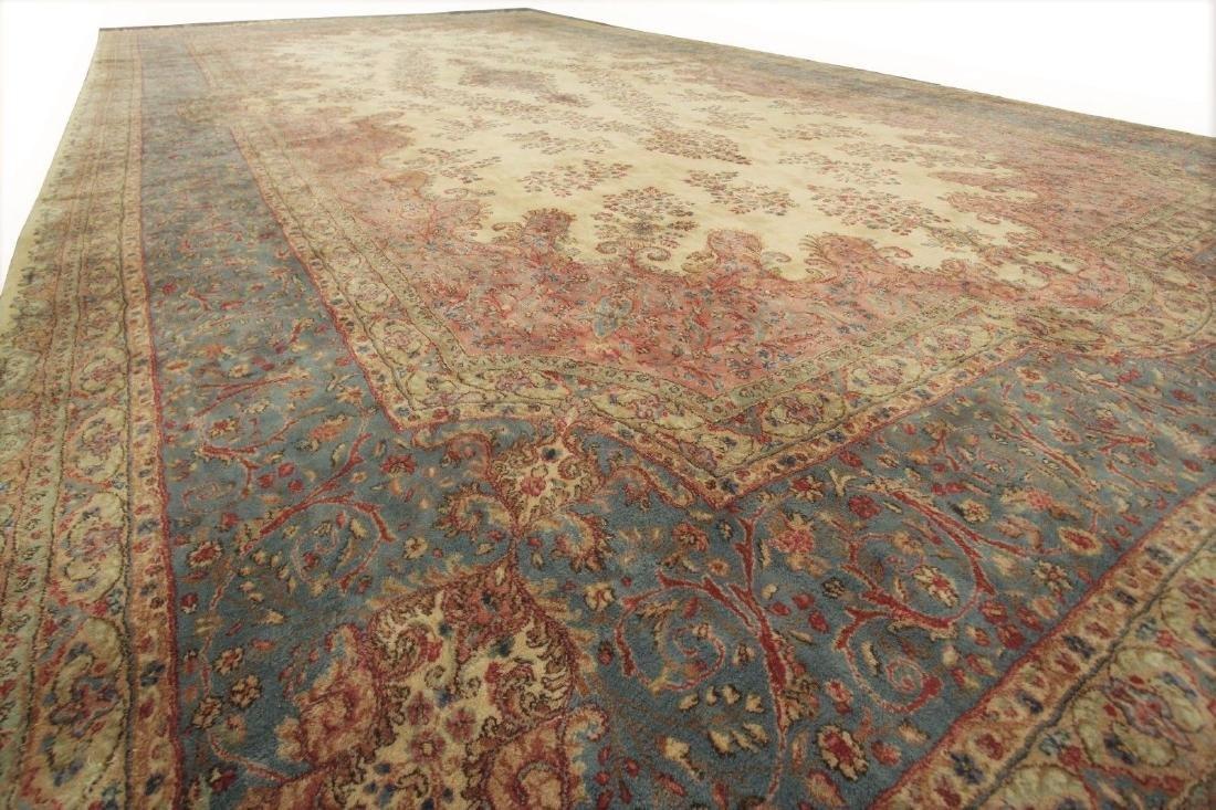 Persian Classic Kerman Rug Carpet 15x26 - 6