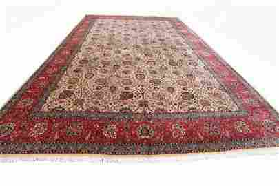 Handmade Persian Tabriz Rug 11x16