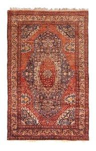 Silk Persian Farahan Rug 5x7