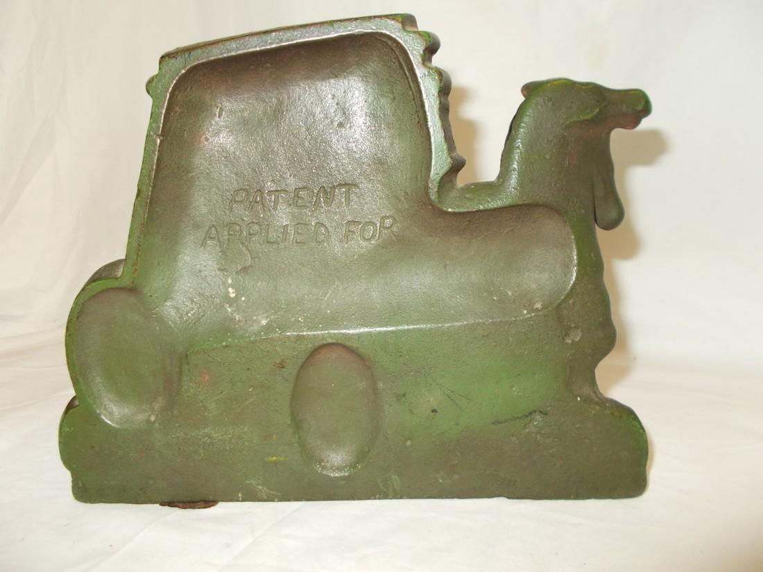 Stagecoach and Horses Cast IronDoor Stop - 2