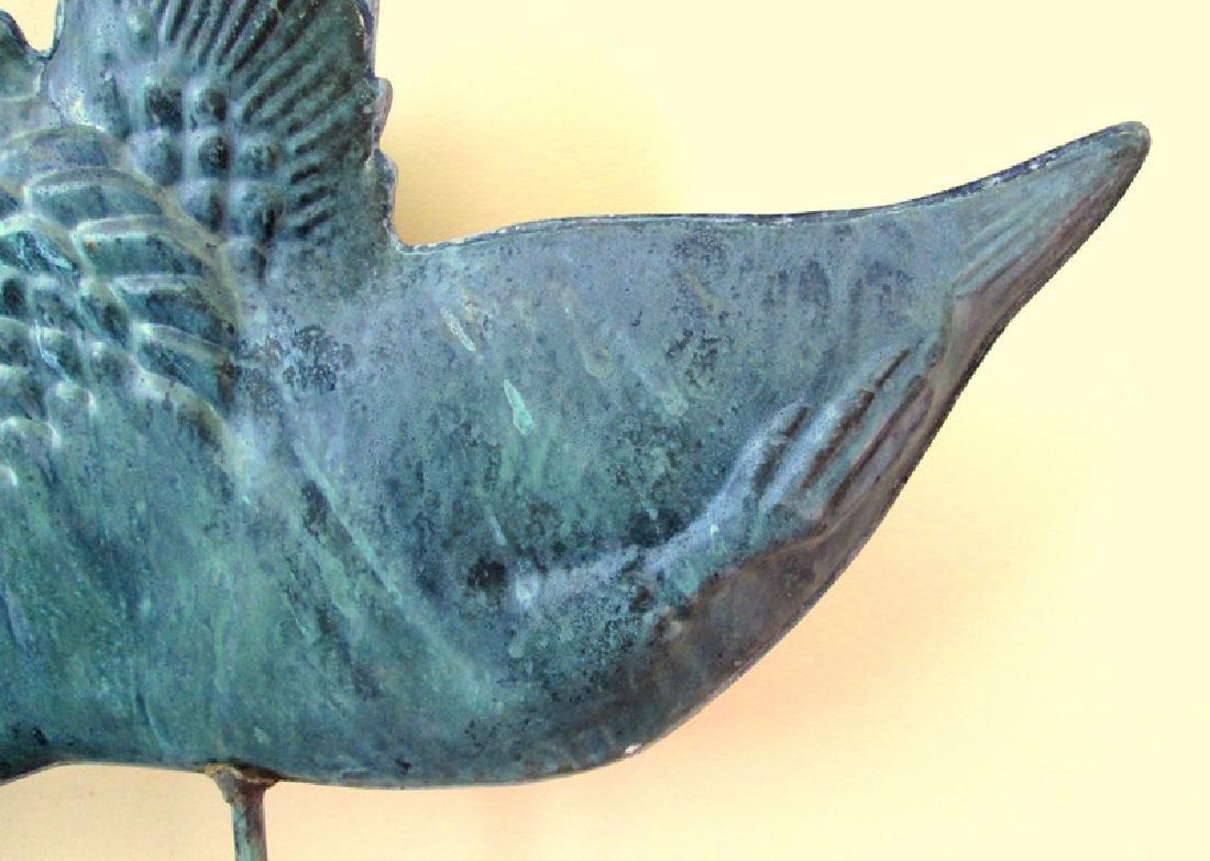 Copper Goose Weathervane - 4