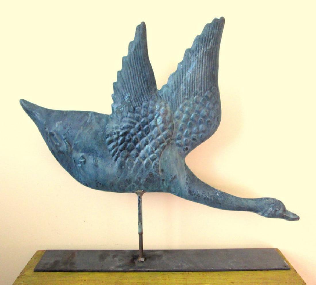 Copper Goose Weathervane - 6