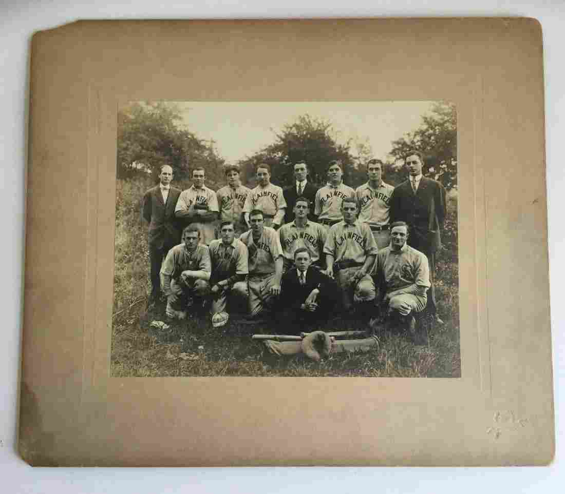 Antique Baseball Team Photo