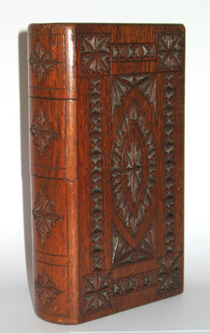 Folk Art Book Shaped Box