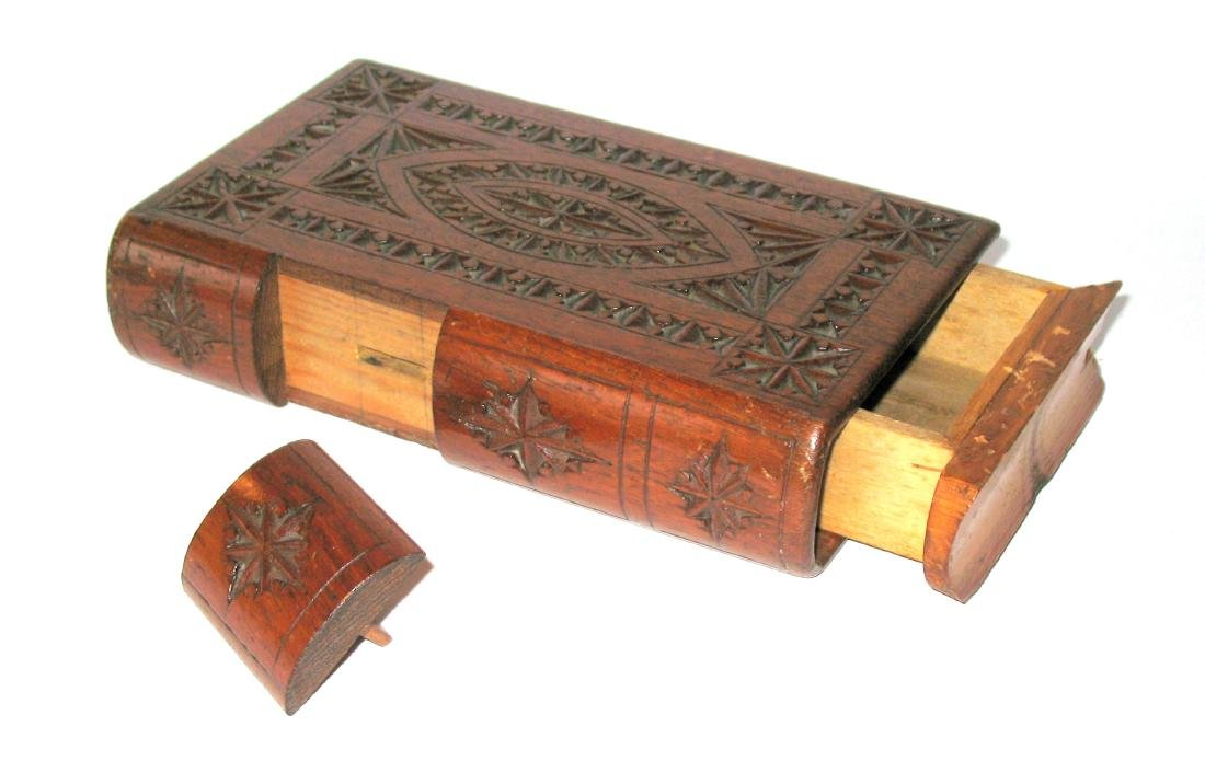 Folk Art Book Shaped Box - 2