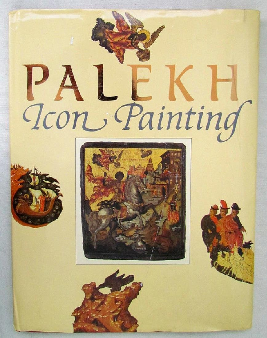 Russian Art Album Book on Palekh Icon Painting