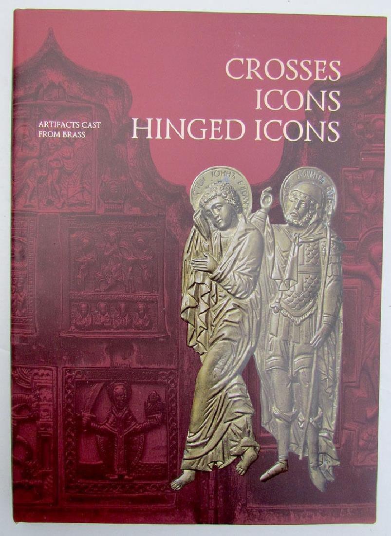 Russian Metal Icon & Crosses Art Ref Book