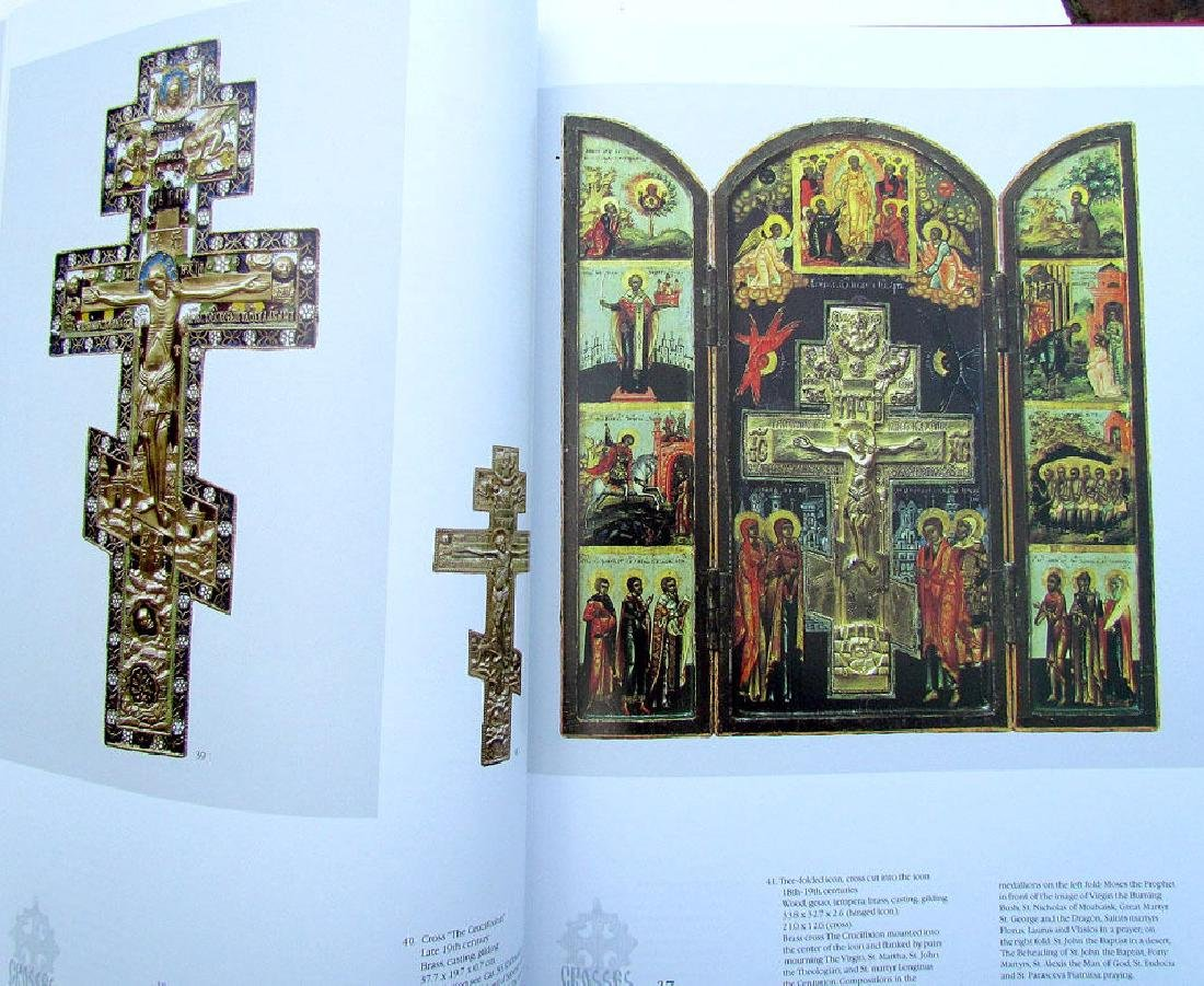 Russian Metal Icon & Crosses Art Ref Book - 2