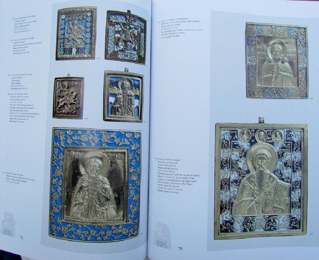 Russian Metal Icon & Crosses Art Ref Book - 4
