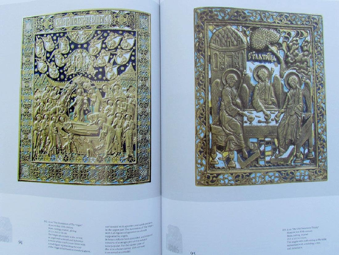 Russian Metal Icon & Crosses Art Ref Book - 5