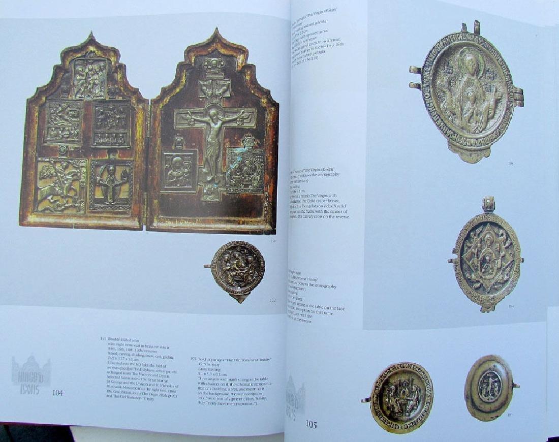 Russian Metal Icon & Crosses Art Ref Book - 6
