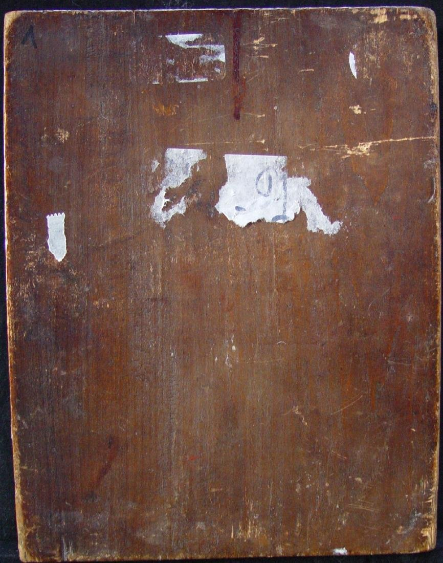 Beheading of Saint John Russian Icon, 19th C - 4