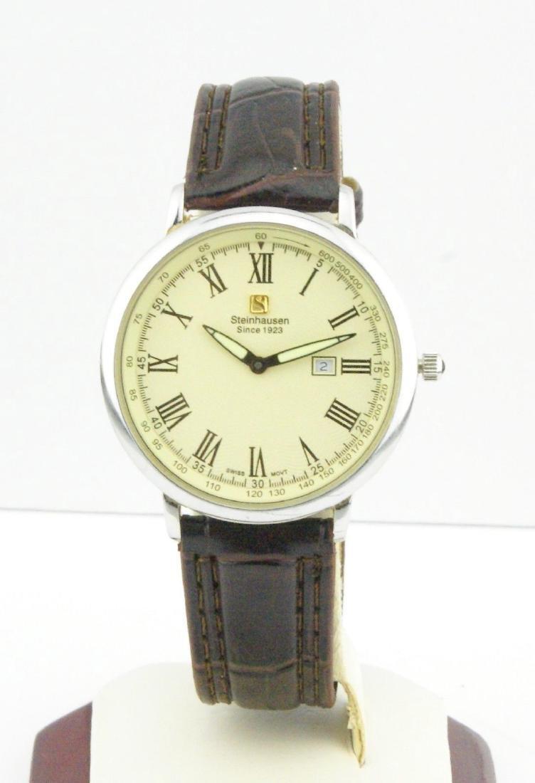 Steinhausen Men's Stainless Steel Quartz Watch
