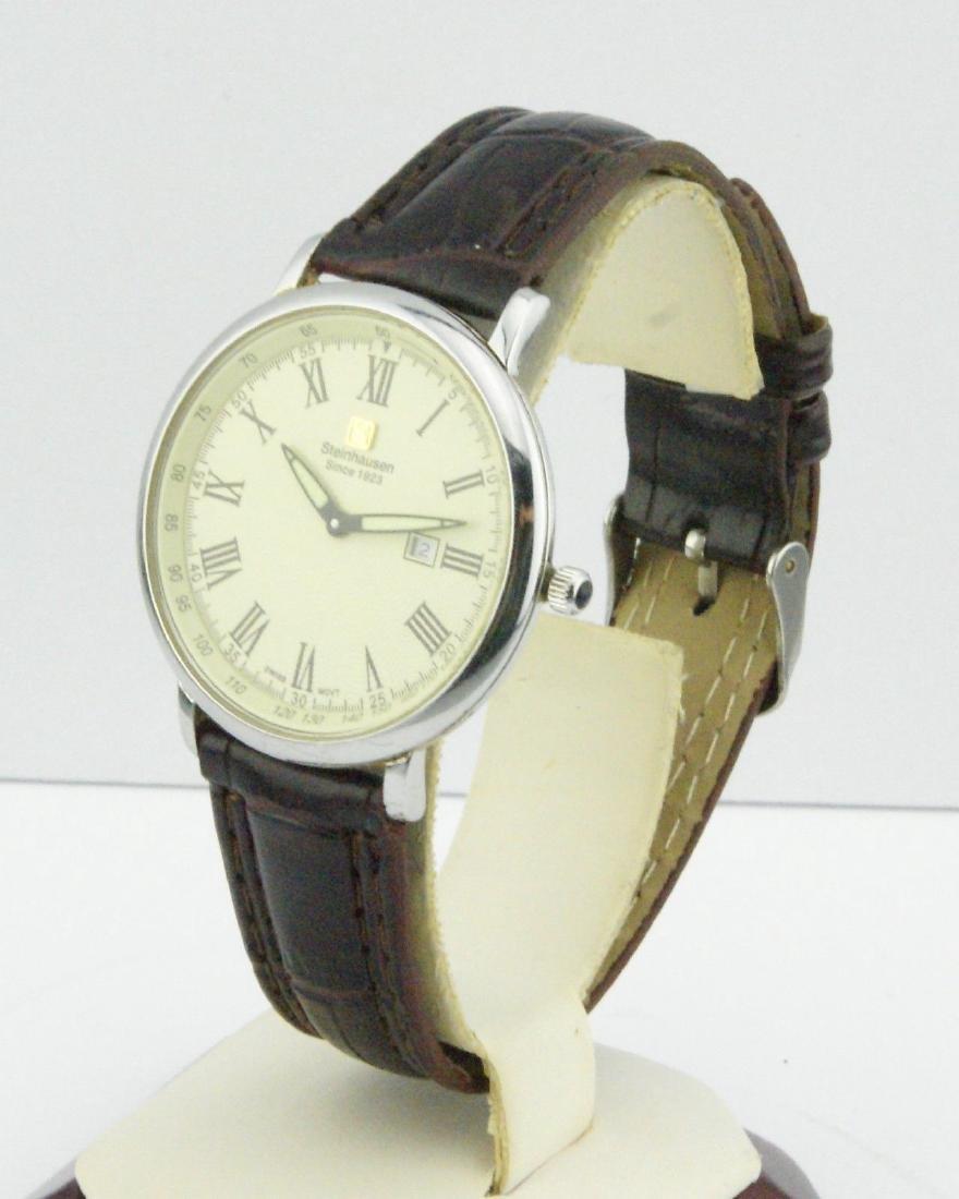 Steinhausen Men's Stainless Steel Quartz Watch - 2