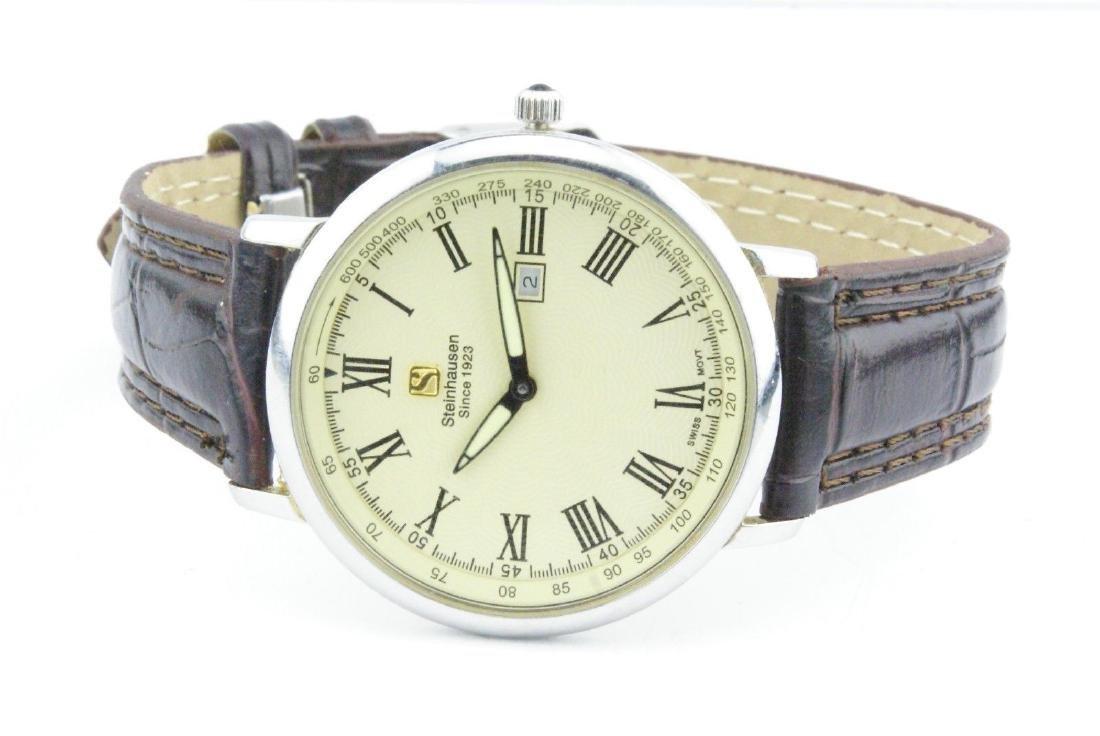 Steinhausen Men's Stainless Steel Quartz Watch - 3