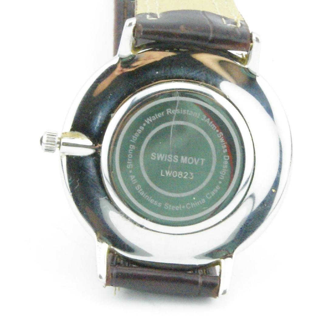 Steinhausen Men's Stainless Steel Quartz Watch - 4
