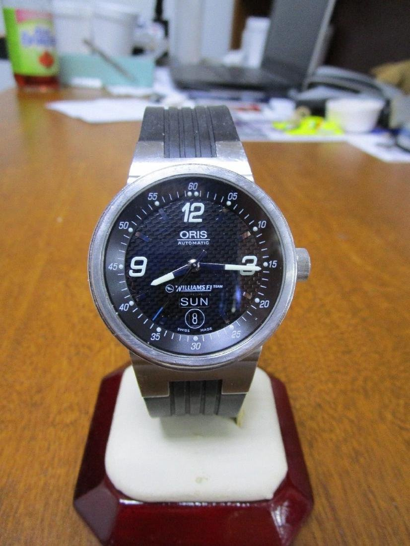 Oris Williams F1 Team Stainless Steel Watch