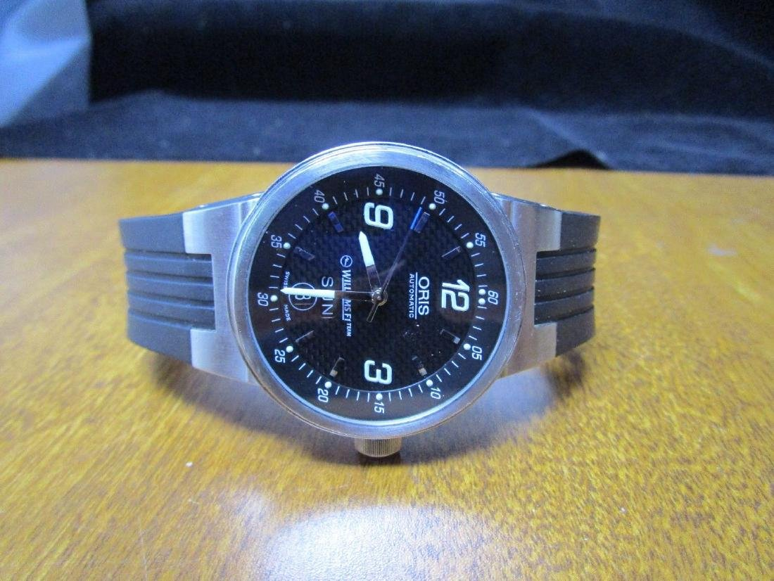Oris Williams F1 Team Stainless Steel Watch - 3