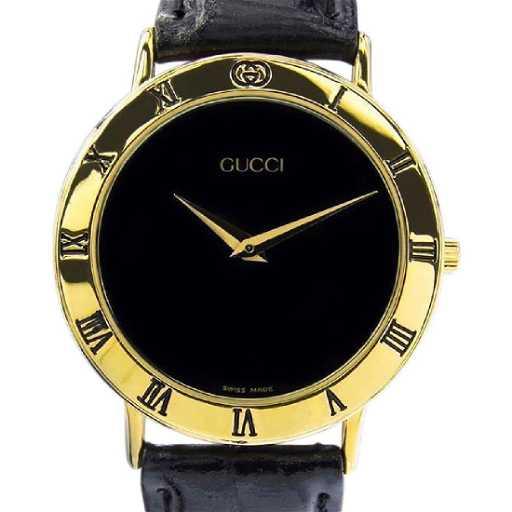 a1e0dd6c4 Vintage Swiss Gucci 3000.2m Gold Plate Quartz Watch. placeholder