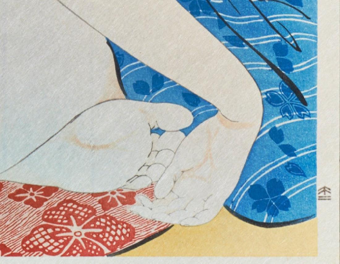 Goyo Hashiguchi: Woman After Bath - 4