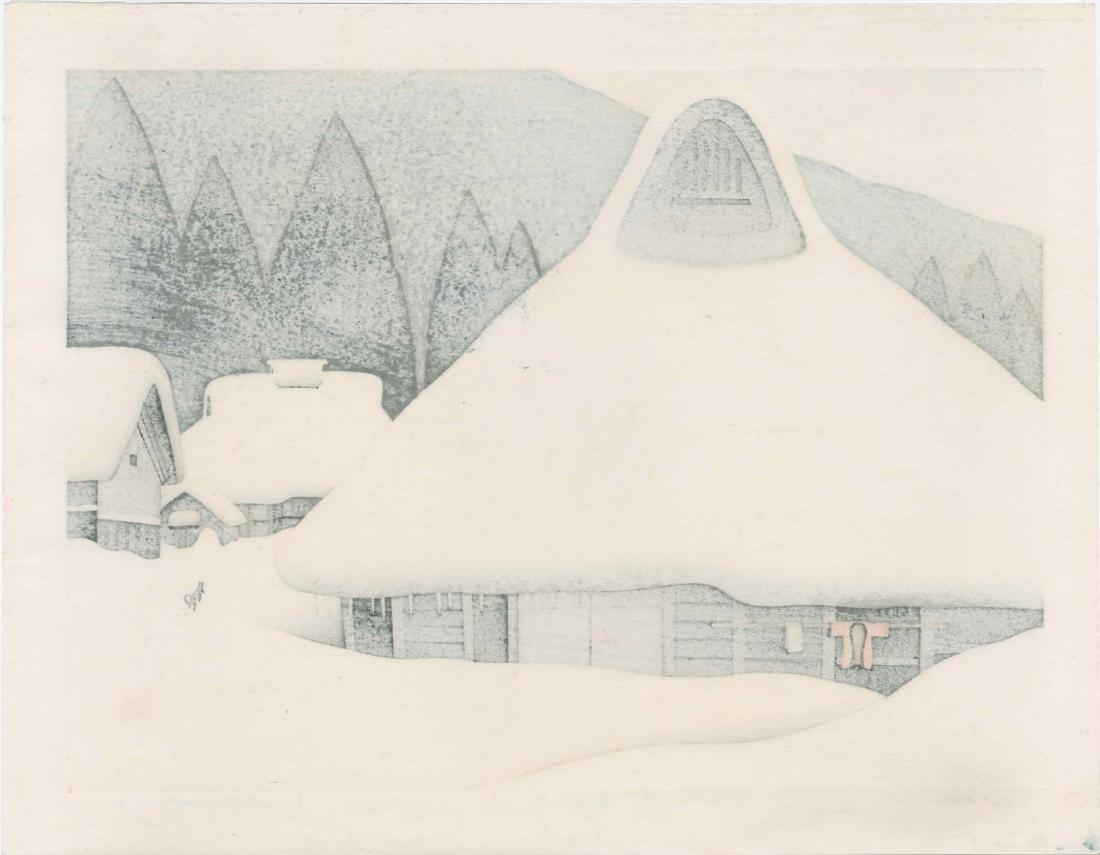Kawashima Tatsuo: Winter in Miyama - 2
