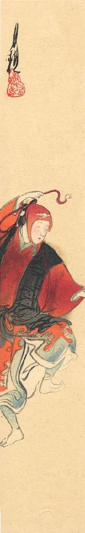 Ogata Gekko: A Dancer