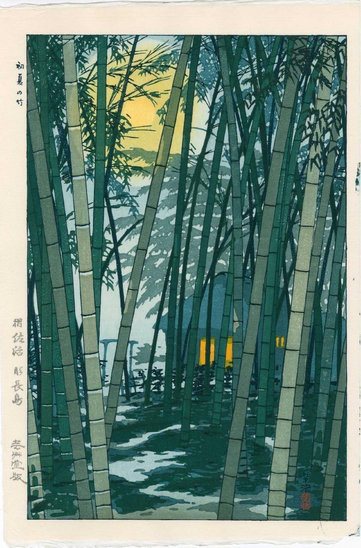 Shiro Kasamatsu: Bamboo Grove in Early Summer