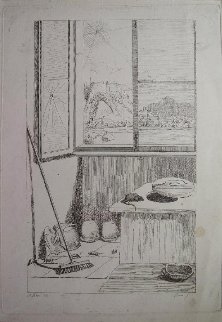 Three Old Master Etchings - 2