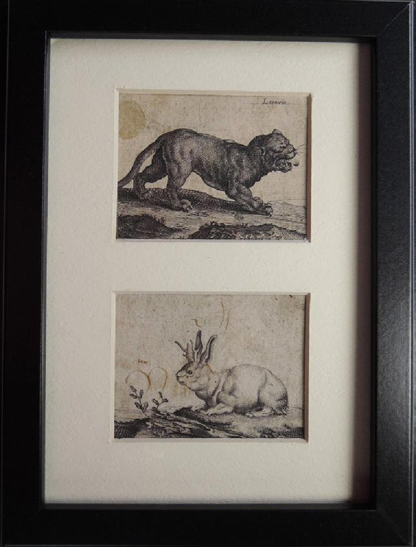 Three Old Master Etchings - 5