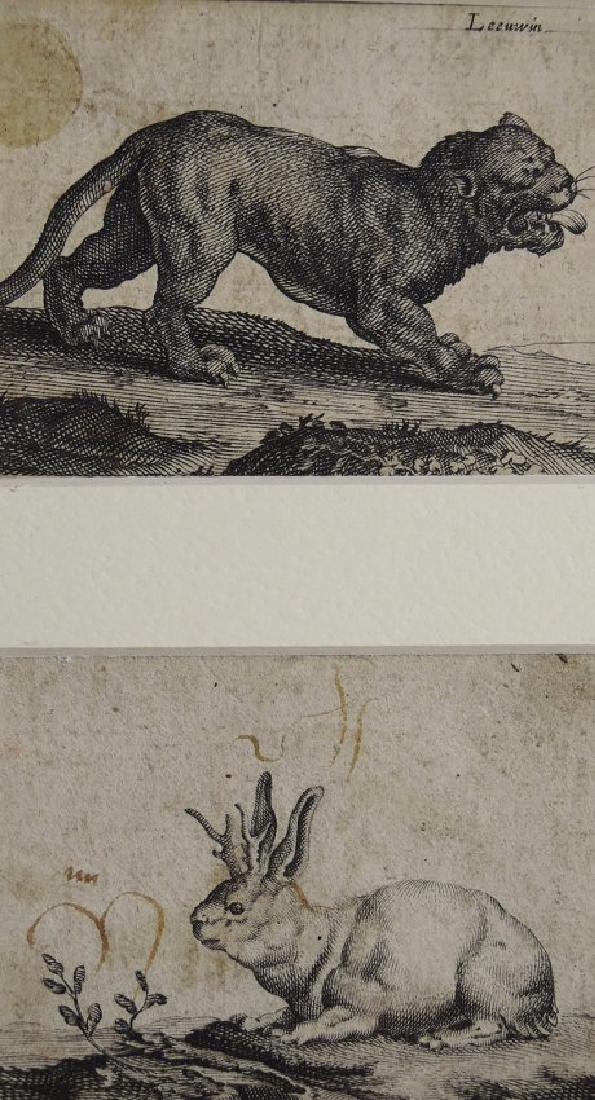 Three Old Master Etchings - 6