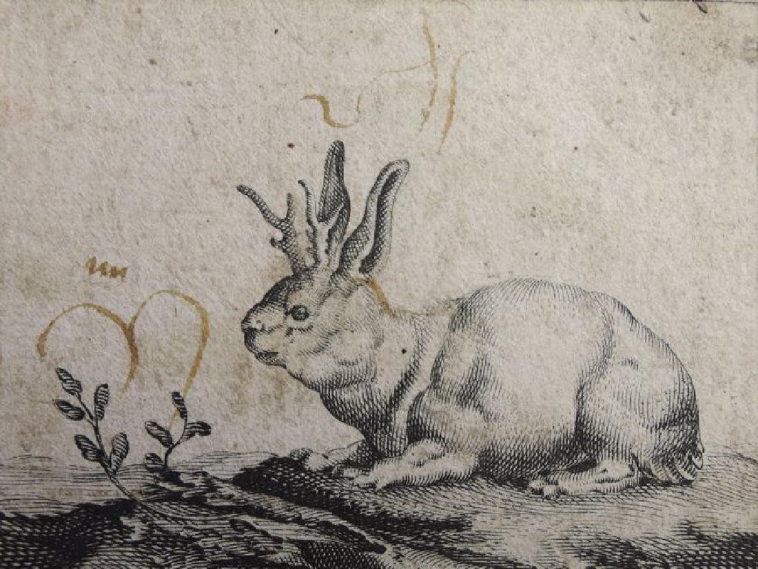 Three Old Master Etchings - 9