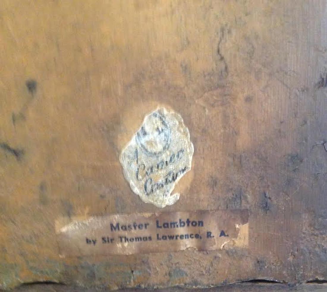 Master Lambton Red Boy by Sir Thomas Lawrence - 4