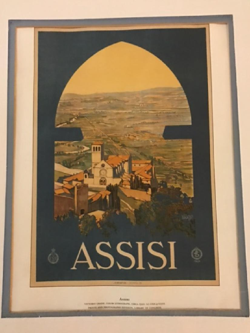 Print of Assisi Italy c.1920