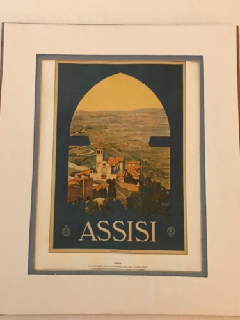 Print of Assisi Italy c.1920 - 2