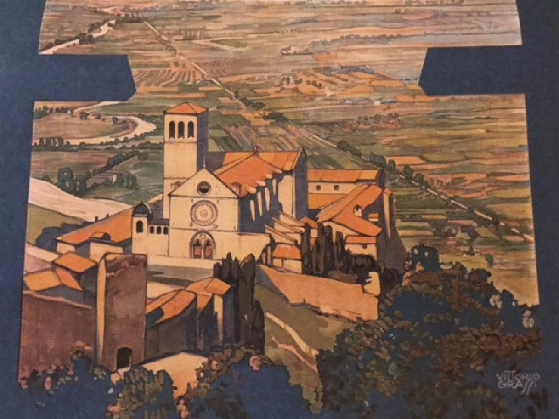 Print of Assisi Italy c.1920 - 3