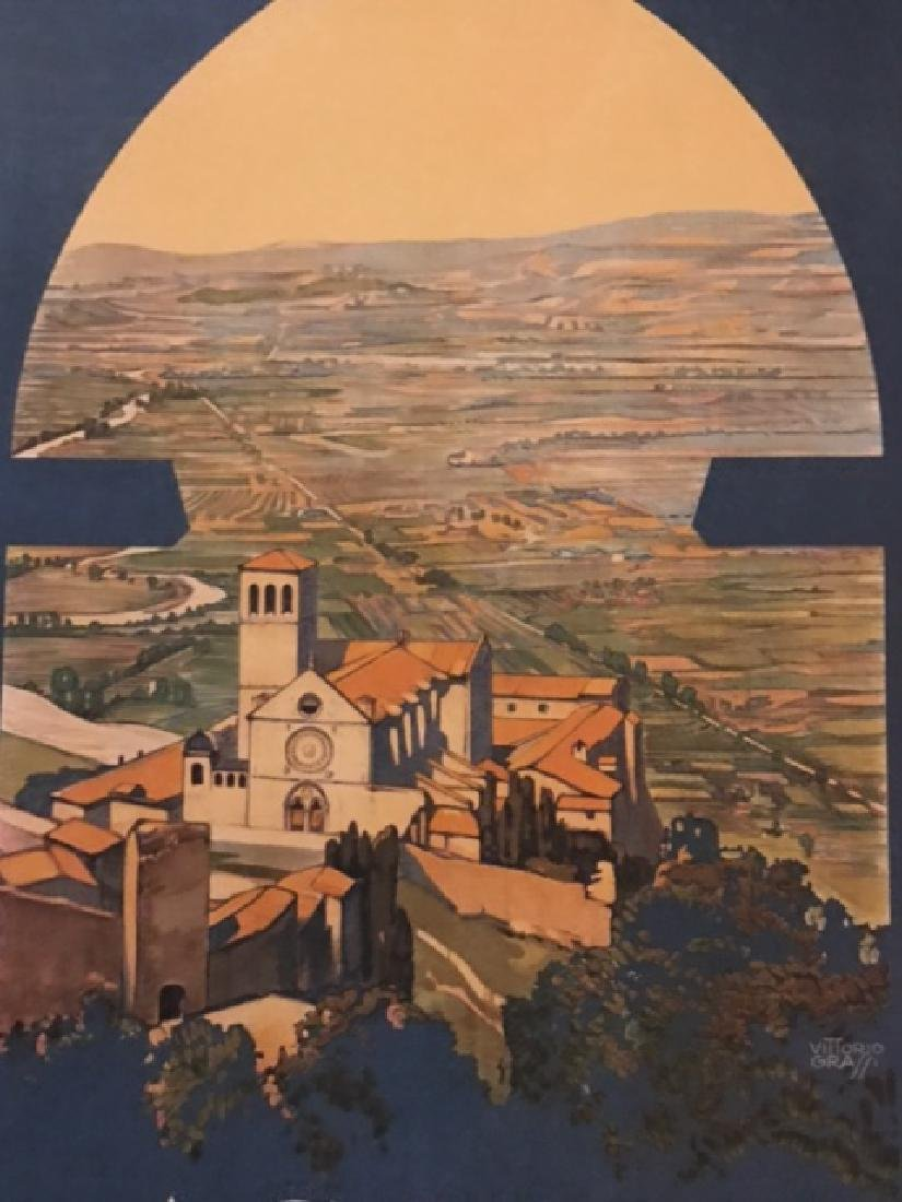 Print of Assisi Italy c.1920 - 5