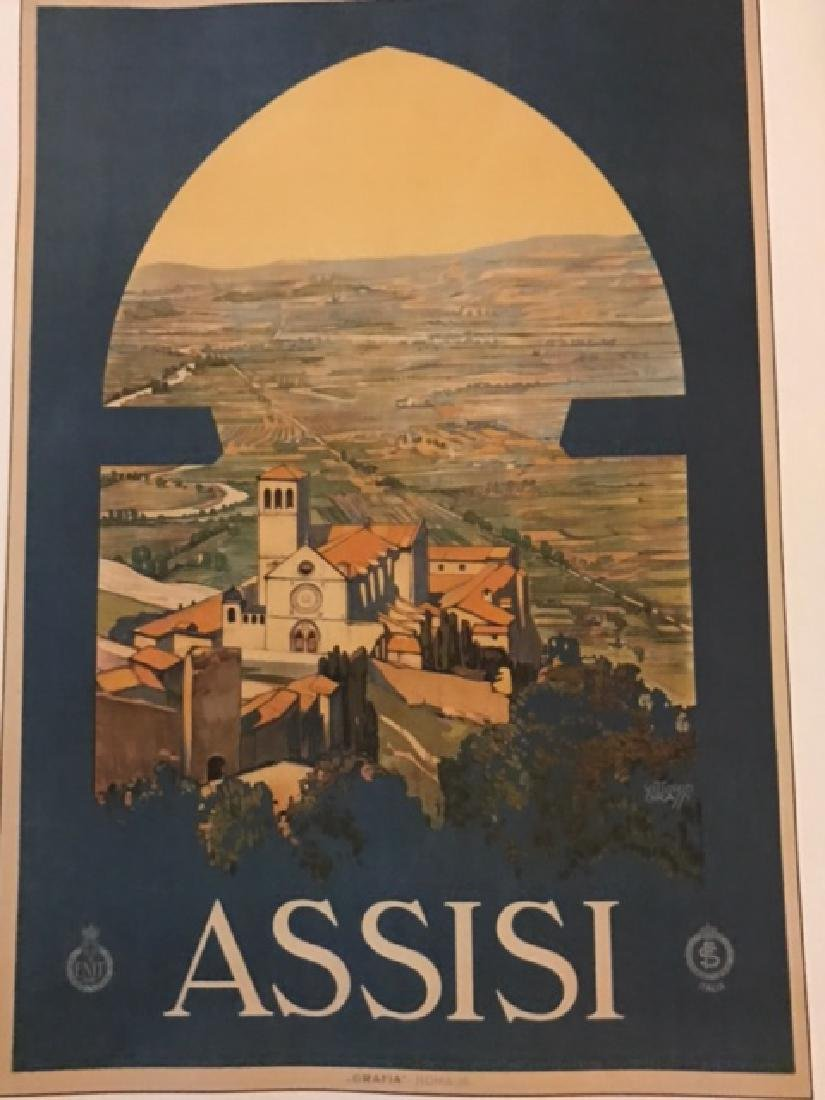 Print of Assisi Italy c.1920 - 6