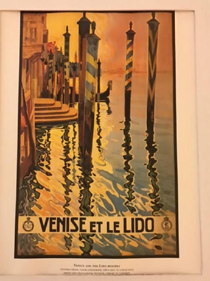 Venise Italy Print c.1920 - 2
