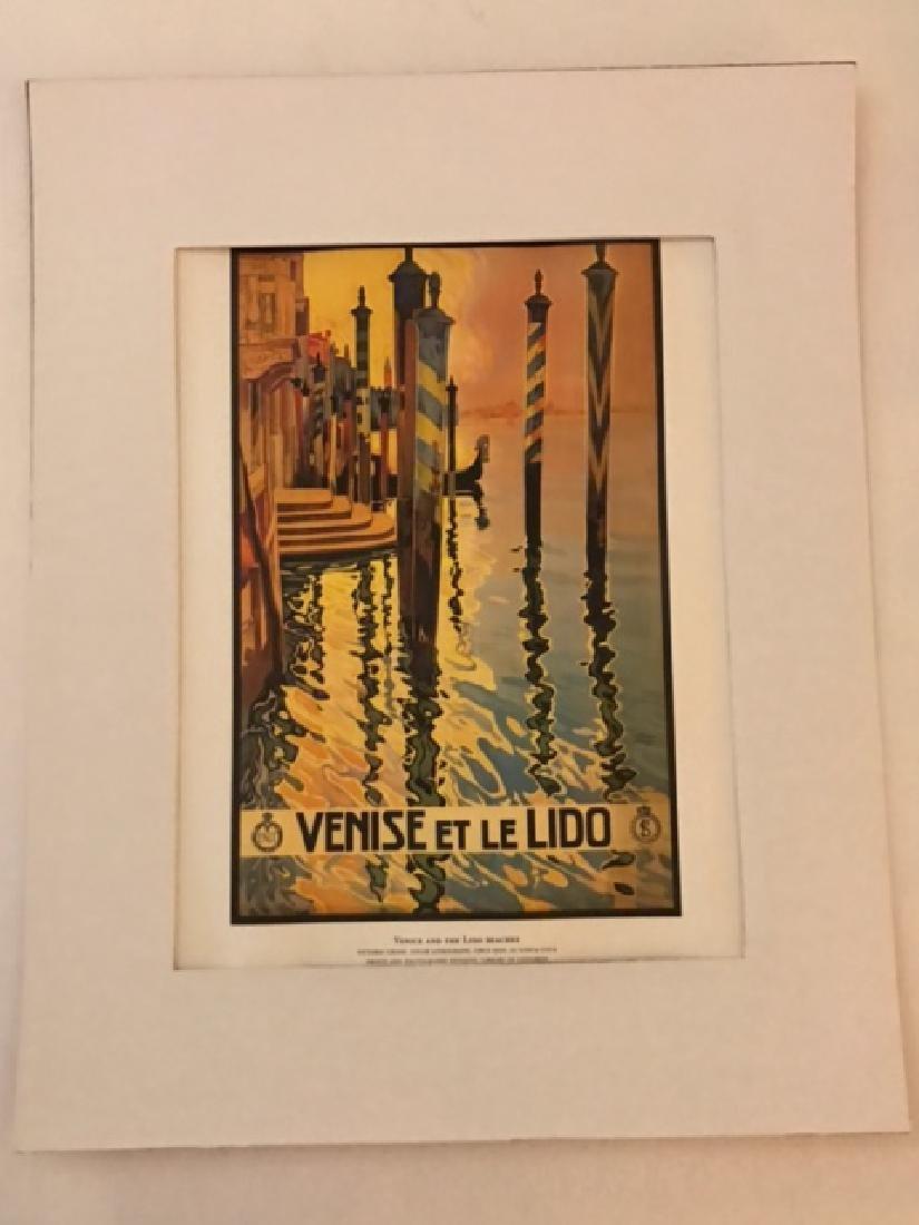 Venise Italy Print c.1920 - 3