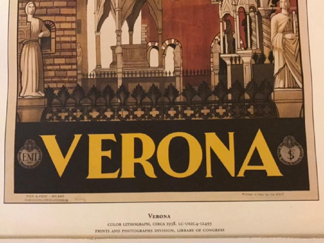 Verona Italy Print c.1938