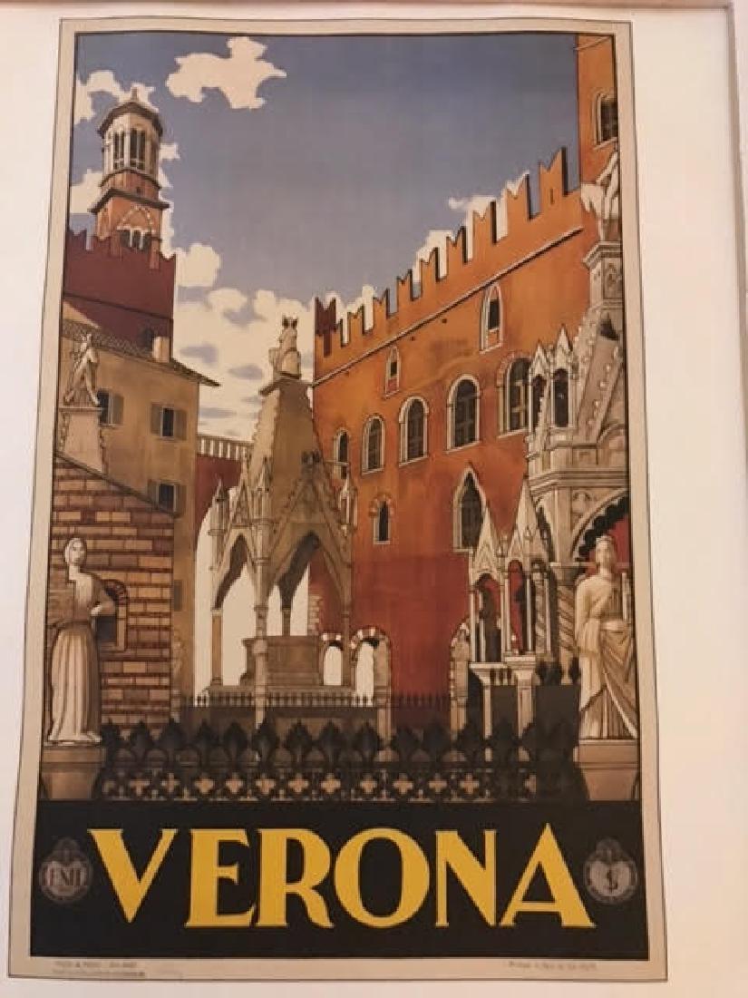 Verona Italy Print c.1938 - 3