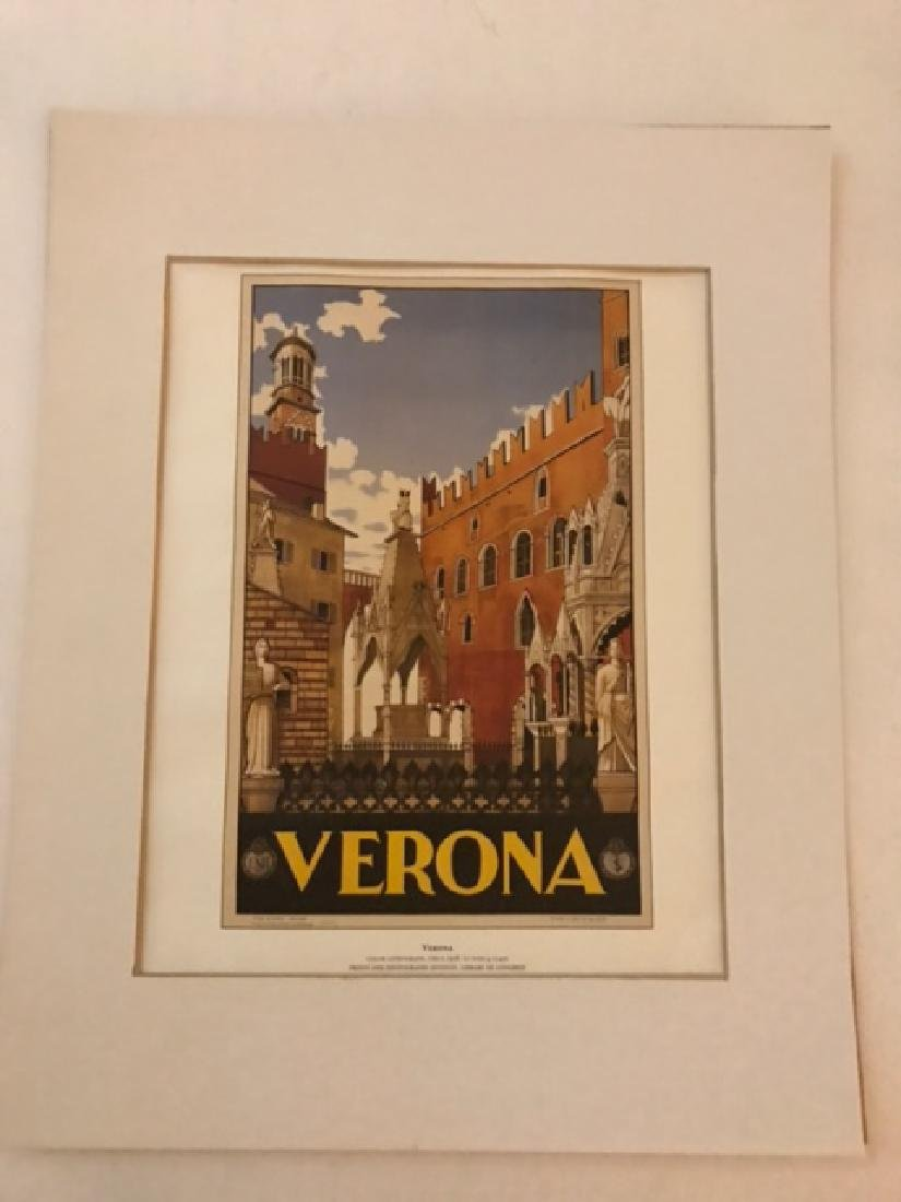 Verona Italy Print c.1938 - 5