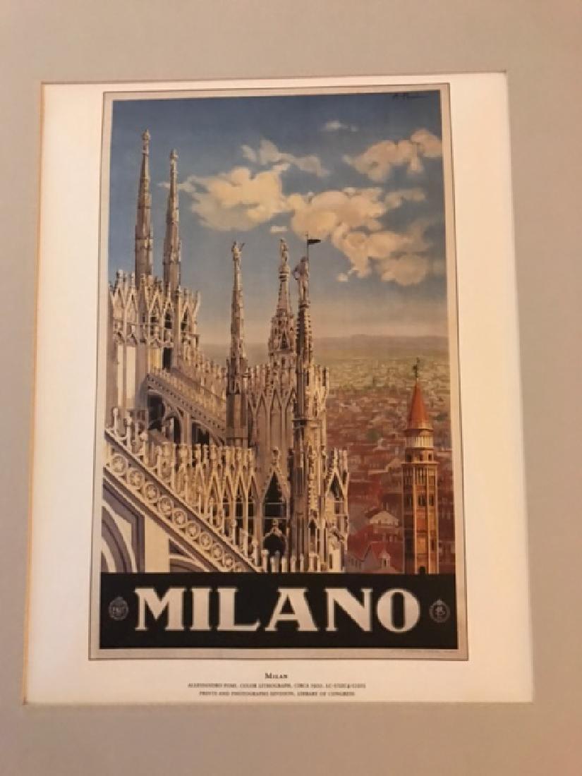 Milano Italy Print c.1920 - 2