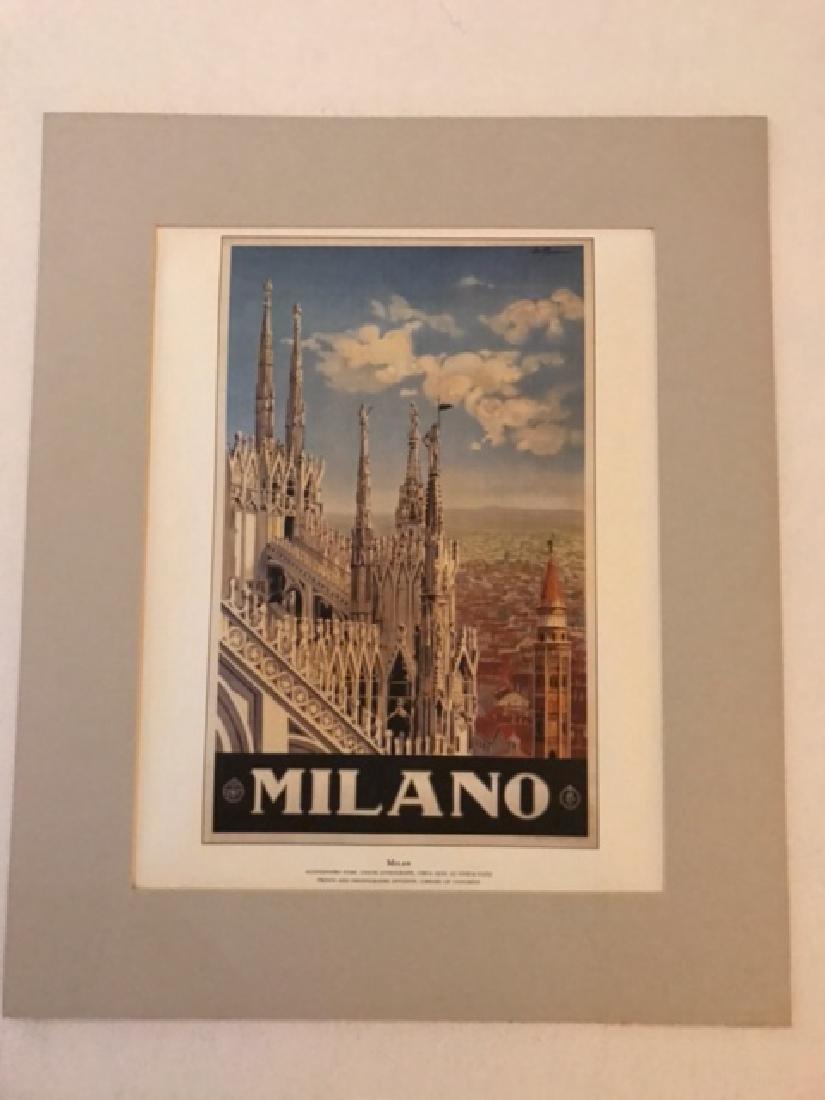 Milano Italy Print c.1920 - 3