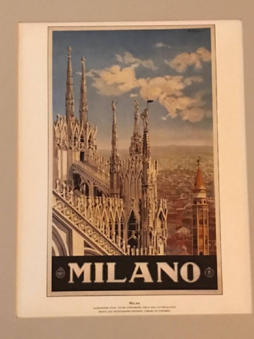 Milano Italy Print c.1920 - 4
