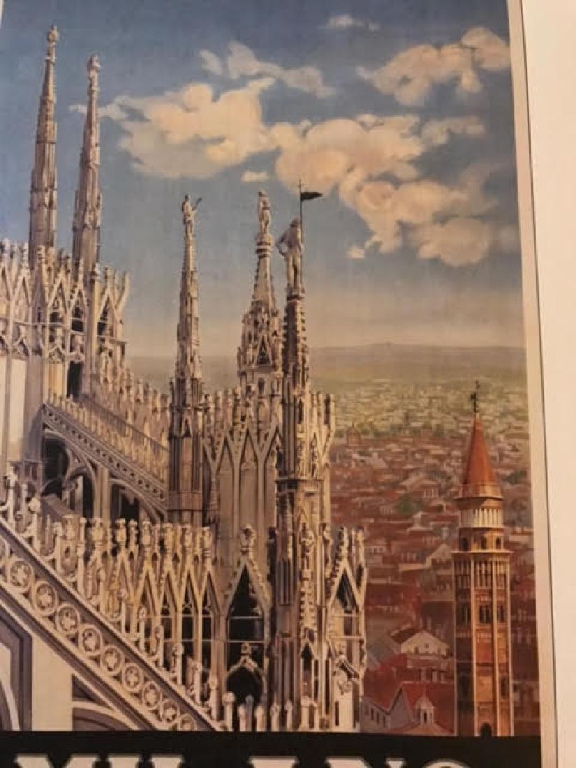 Milano Italy Print c.1920 - 5
